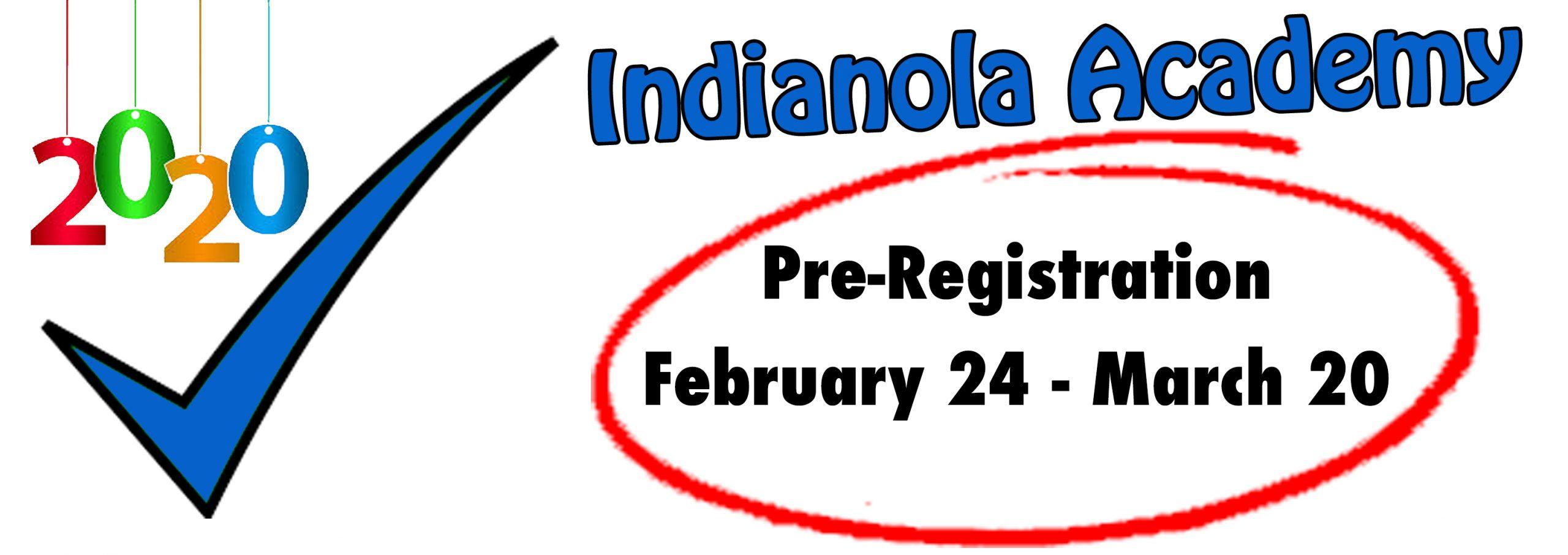 Pre registration