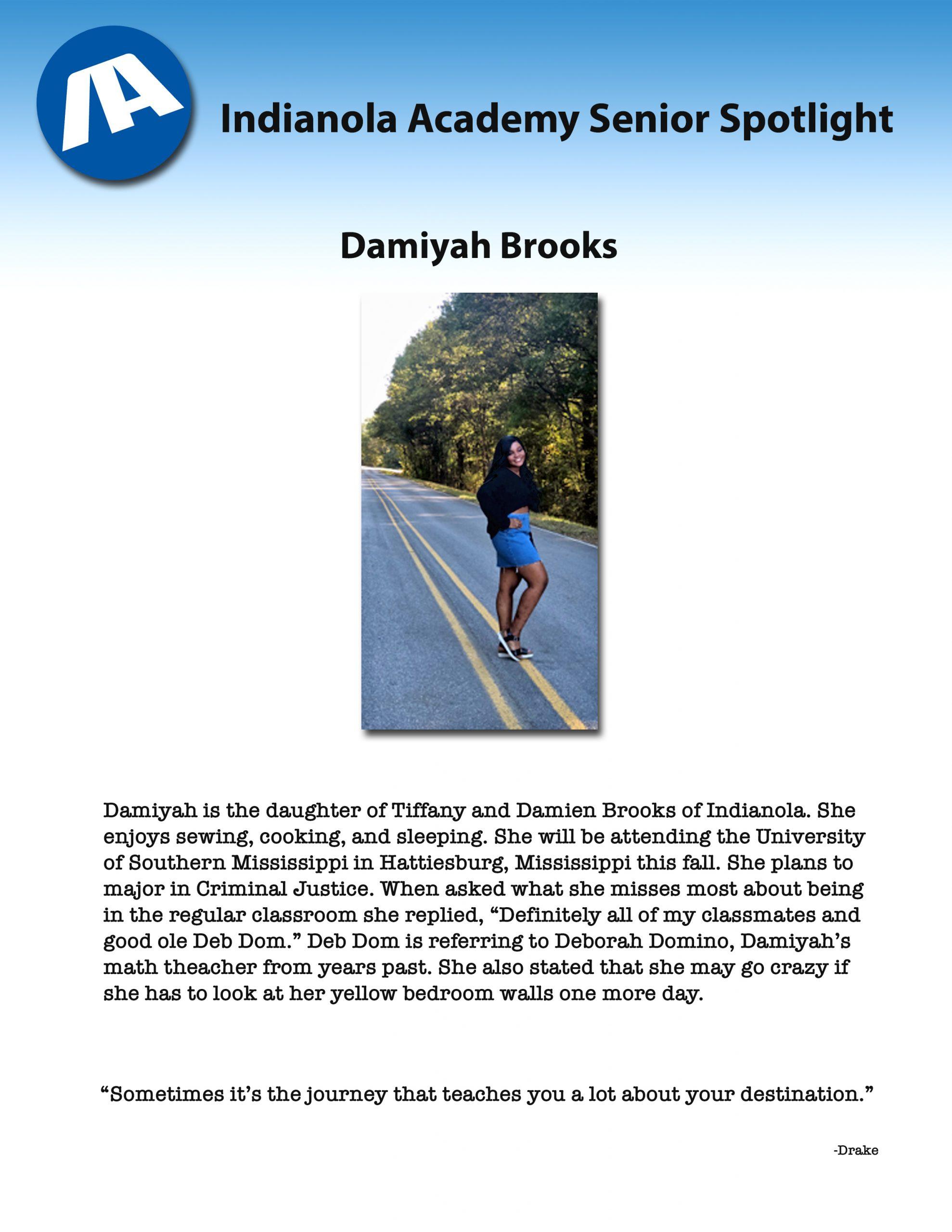 Damiyah Brooks