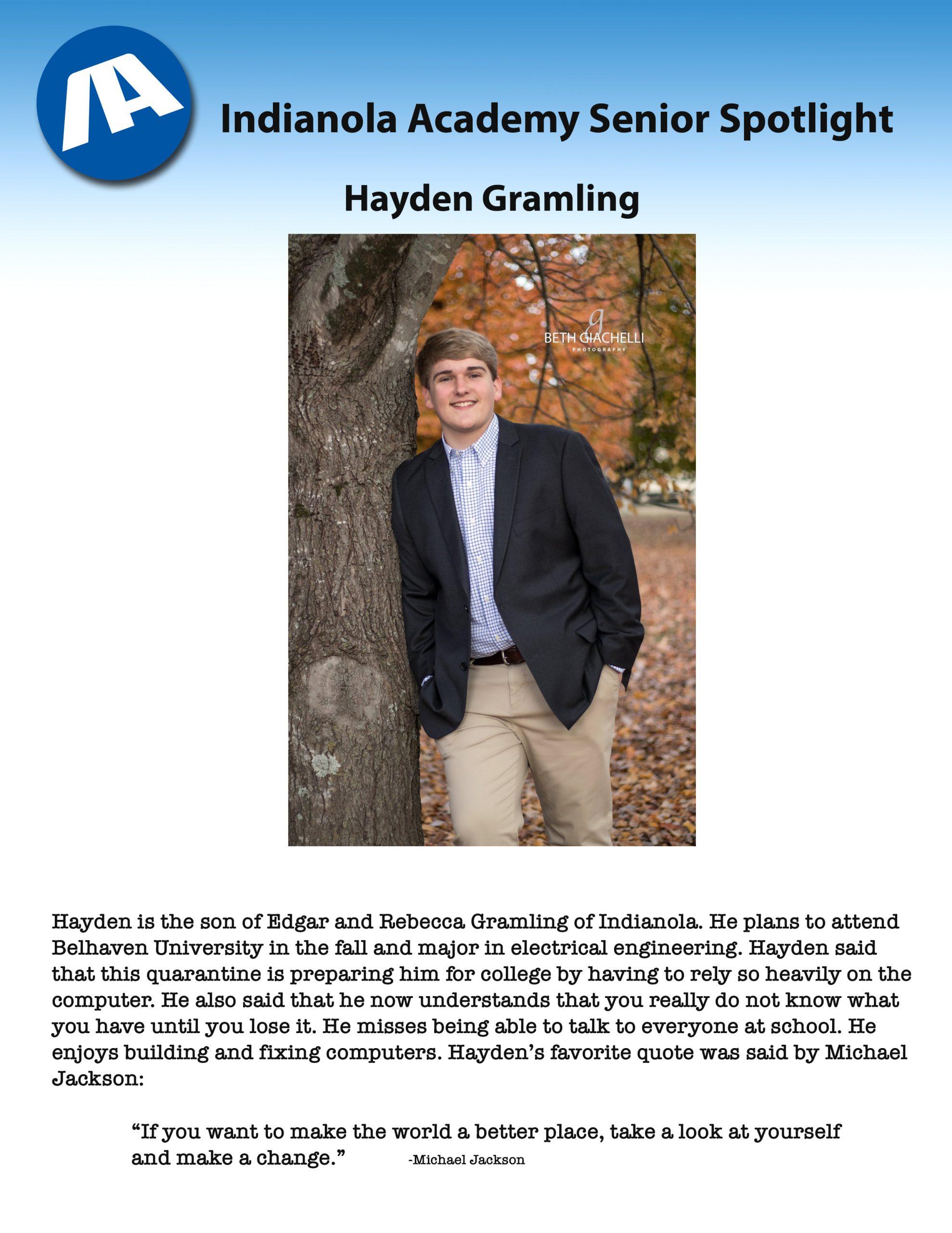 Hayden Gramling