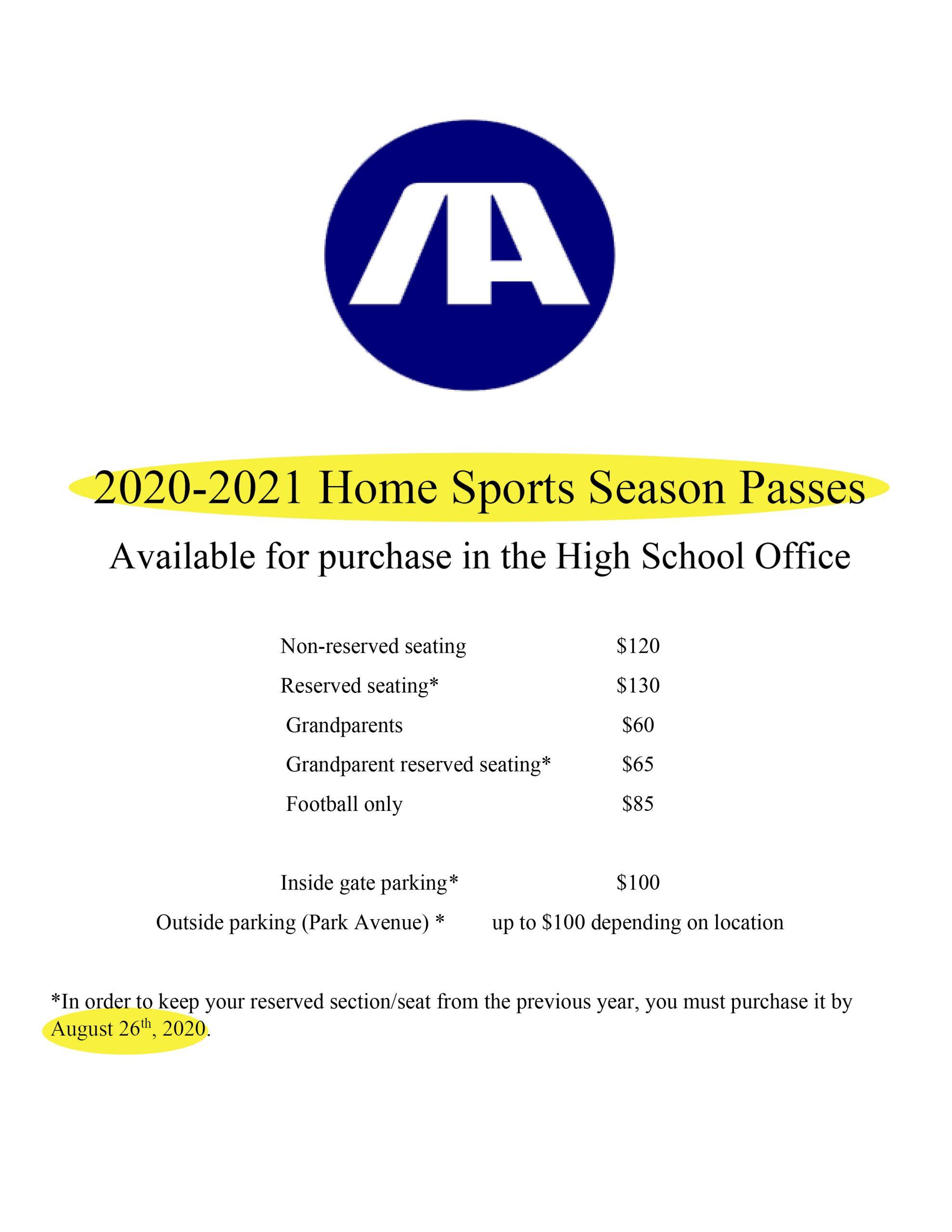 AAA sports passes